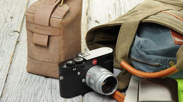 新作レザーカメラケース 「サッコ」できました。