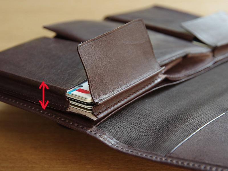 なぜ今、長財布?薄いのに大容量の「ピアット」:後編