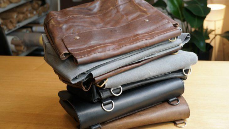 iPadと日用品が整然と収まるミニマルなバッグが欲しい②